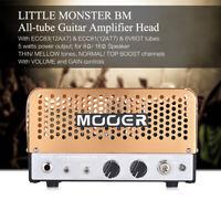 MOOER LITTLE  BM Mini 5W All-tube Guitar Amp Amplifier Head Z3T8