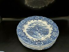 SALEM China English Village  Dinner Plates Set of 6