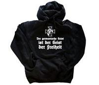 Der germanische Geist ist der Geist der Freiheit Germanen Wikinger T-Shirt S-3XL