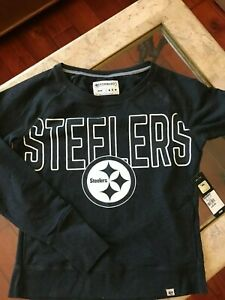 Pittsburgh Steelers Sweatshirt, Medium, NEW Retail $40