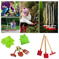 Traditional Wooden Children Sweeping Brush Broom Garden tools Montessori EYFS
