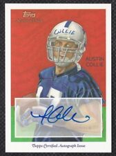 Austin Collie 2009 Topps National Chicle Autographs #NCAACO Indianapolis Colts