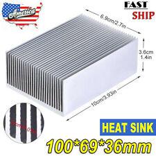 Large Heatsink Aluminum Electrical Heat Sink Radiator Led Transistor Ic Module