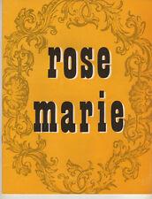 "Anna Marie Alberghetti Souvenir Program"" ""Rose Marie"" 1960 Stock"