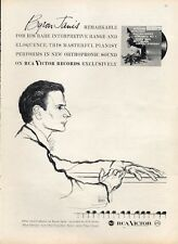 """1958 Victor Records Print Ad Byron Janis Piano """"Chicago Symphony"""""""