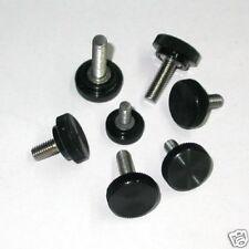 Pomello zigrinato manopola vite di serraggio INOX Ø 5mm - ID 2859