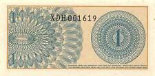 Indonesia  *1* Sen  1964  Series XDH  Replacement  Uncirculated Banknote M27Jw