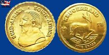 New Listing10 For 1 Price 1978 Mini Krugerrands Gold Coins 1/2 Gram Bullion Free Shipping.*
