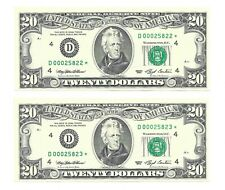1993 $20 CLEVELAND * STAR * ⭐️ FRNs, CRISP & UNCIRCULATED BANKNOTES, LOW SERIALS