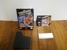Original WWF WrestleMania Challenge Box and Manual ONLY!! See Pictures