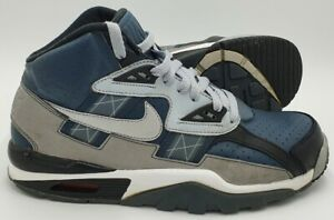 Nike Air Trainer SC Mid Bo Jackson Leather Trainers 302346-008 Navy UK7/US8/EU41