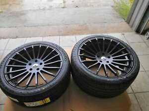 "20"" 4 roues pour BMW X5 X6 F15 F16 E70 E71 HAXER HX010 5x120"