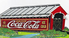 Cover Your Thirst Cok05 Coca Cola Series Red Covered Bridge Shelia'S