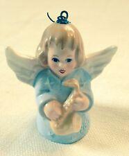 "Vintage ""Goebel"" Angel Bell Ornament- 1980- 2"" tall- Signed"