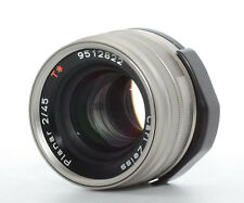 【TOP MINT】 Contax 45mm f/2 Carl Zeiss Planar T* for G1 G2 JAPAN send #243