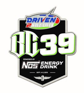 2019 Driven 2 Save Lives BC39 Event Pin USAC Indianapolis Motor Speedway Indy