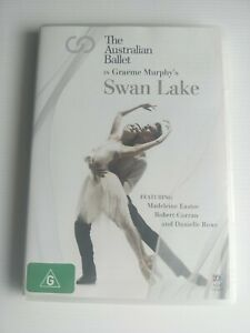 The Australian Ballet in Graeme Murphy's Swan Lake Dvd Region All Rare