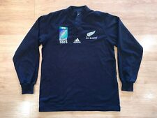 New Zealand All Blacks Ls 2003 World Cup Rugby Union Adidas Shirt Jersey Medium