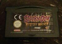 Game Boy Advance, GBA Scooby Doo Mystery Mayhem Game tested