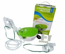 Valdotek Compressor Nebulizer Machine System Cool Mist Inhaler & Masks 2 Kits