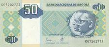 Angola 50 Kwanzas A.A. Neto, J.E. Dos Santos - Plateforme pétrolière - 1999