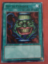 POT DE CUPIDITE BP02-FR129 1ERE EDITION CARTE YU-GI-OH! RARE VF