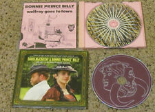 """(2) CD LOT Bonnie Prince Billy """"Wolfroy"""" and """"What the Brothers Sang"""" VG+ to NM-"""