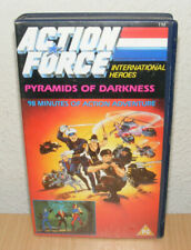 Vintage Action Force International Heroes Pyramids Of Darkness VHS Video Tape