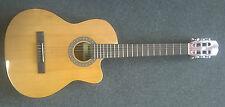 "Admira ""Sara EC"" classical electro acoustic nylon string guitar, natural, new!!"