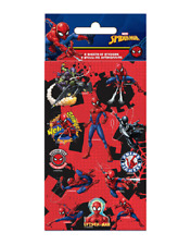Spiderman Party Pack of Stickers - 6 Sheets