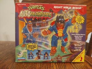 TMNT 1993 NIGHT NINJA BEBOP (TAKE A PEEK BOX & BLUE ACCESSORIES VARIANT)