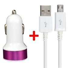Caricabatterie e dock rosa per cellulari e palmari HTC con USB