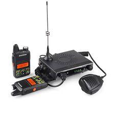 Baofeng MINI Mobile Radio 15W UHF with 2 Handheld Walkie Talkie Transeiver Kits