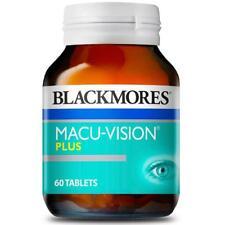 BLACKMORES MACU-VISION PLUS MACULAR EYE HEALTH 60 TABS RETINA LUTEIN MACUVISION
