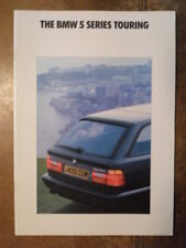 BMW 5 SERIES TOURING 1992 UK Mkt Prestige Sales Brochure Prospekt - E34