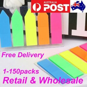 Sticky Notes Plastic Bookmaker Page Maker Tabs Sticker Memo Pad Wholesale