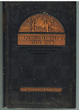 Household Searchlight Recipe Book Revised Edition 1939 Rare Vintage Cookbook!  $
