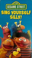 Sesame Street - Sing Yourself Silly (VHS, 1990)