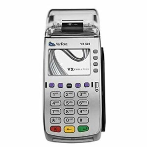 NEW VeriFone Vx520 EMV Payment Terminal Credit Card Reader Machine Genuine NIB