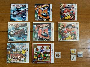 Nintendo 3DS Video Game Lot - Zelda, Super Mario + Others