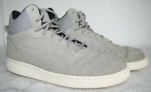 Herren Turnschuhe NIKE Sneaker Sport GR.43 ECHTLEDER High Sneakers NP 99,90 Euro