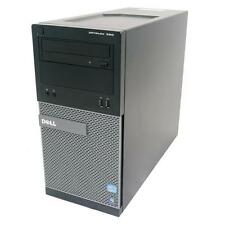 Dell OptiPlex 390 Tower PC-Intel Quad Core i5-2400 a 3,1 GHz, 4GB 250GB WIN 7 PRO