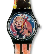 "SWATCH ARTIST GENT ""MARYLIN by Mimmo Rotella"" (GZ133) NEUWARE"