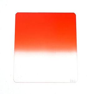 Kood P Series Cokin P Size Dark Red / Orange Soft Graduated Filter