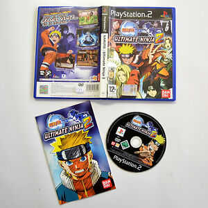 [ PS2 ] Naruto Ultimate Ninja 2 PAL Usato Con Manuale Buono Playstation 2