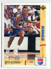 1993 Upper Deck French McDonald's #30 Mitch richmond Kings carte NBA Basketball