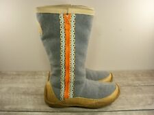 Sorel Norquay Women's Snow Cozy Tall Arctic Ribbon Leather Boots NL1709 Size 8
