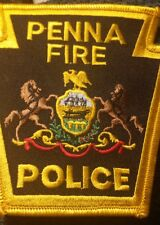 Penna Fire Police Patch