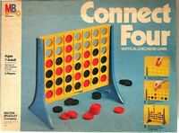 Vintage Connect Four Game Milton Bradley Co.Complete 1979 Vertical Checkers 4430