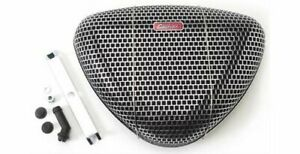 Air Filter Assembly Pro-Flo Triangle Steel Chrome Mesh Finish Each